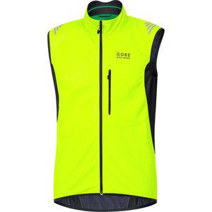 Gore Bike Wear Herren WINDSTOPPER® Radweste E, neongelb
