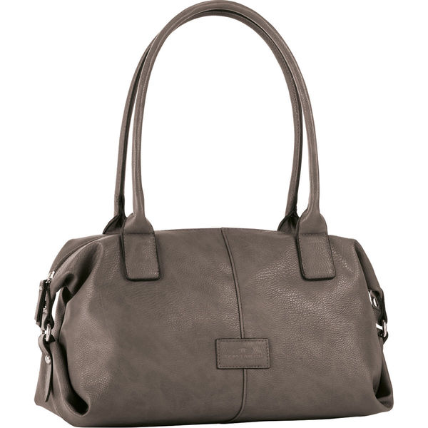 outlet store 531cd fe865 Tom Tailor Damen Bowling-Tasche Miripu, taupe
