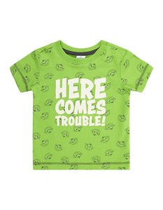 Newborn T-Shirt mit Message-Print