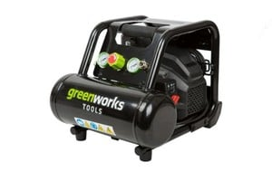 Greenworks Kompressor 8 bar ,  5 Liter