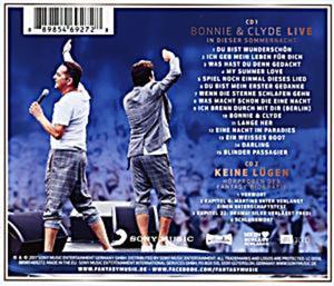 Bonnie & Clyde Live - In dieser Sommernacht  (CDs)