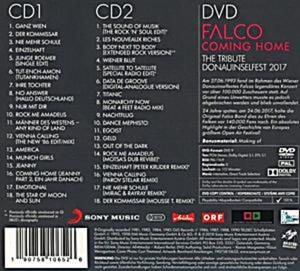 Falco 60 - Coming Home (Deluxe Edition, 2 CDs + DVD)