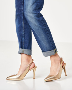 High-Heel-Slingpumps
