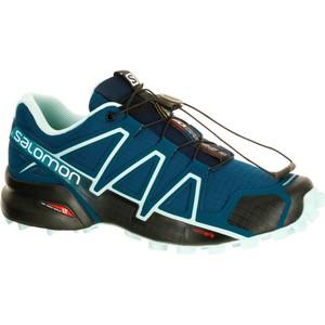 SALOMON Laufschuhe Trail Speedcross 4 Damen blau, Größe: 37 1/3