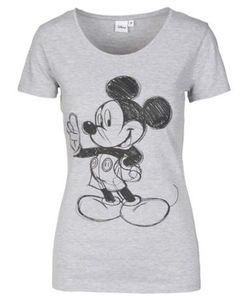 Disney - T-Shirt - meliert, Mickey Mouse
