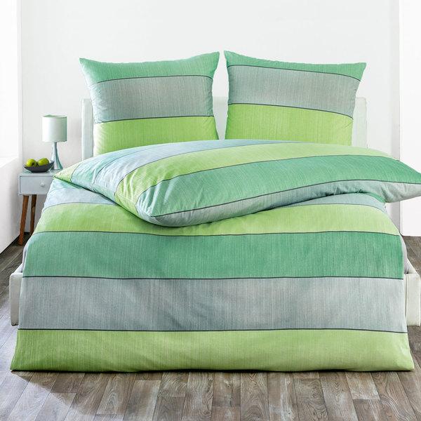 Dreamtex Jersey Bettwäsche Aloe Vera 135 X 200 Cm Gently Green Von
