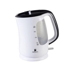 Hoffmanns Wasserkocher in Weiß-Schwarz