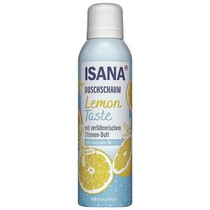 ISANA Duschschaum Lemon Taste 0.75 EUR/100 ml