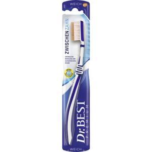Dr.BEST Zwischenzahn Zahnbürste weich