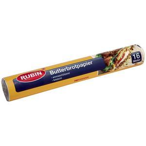 RUBIN Butterbrotpapier 0.04 EUR/1 m