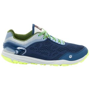 Jack Wolfskin Frauen Trail Running Schuhe Crosstrail Chill Low Women 38 blau
