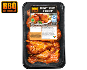 "BBQ Turkey Wings ""Paprika"" XXL-Packung**"