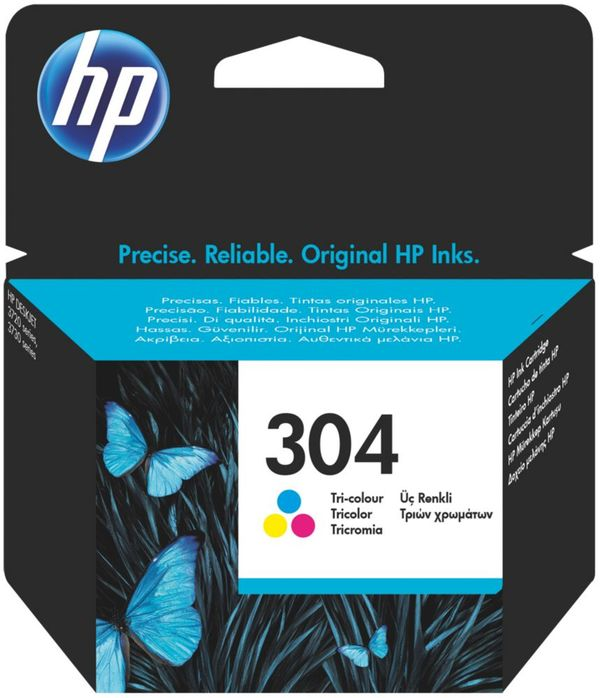 Original HP 304 Tintenpatrone  Color