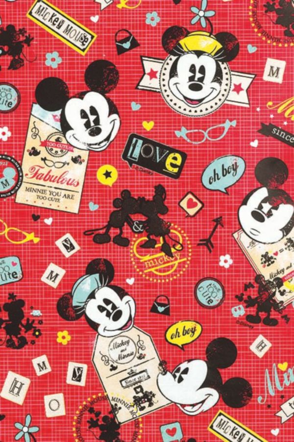 Geschenkpapier DISNEY - Mickey Mouse