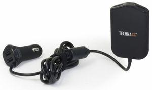 Kfz-Ladegerät mit 4-fach USB-Anschluss (4x max. 2,4A)