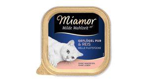 Miamor Katzennassfutter Milde Mahlzeit Geflügel Pur & Reis