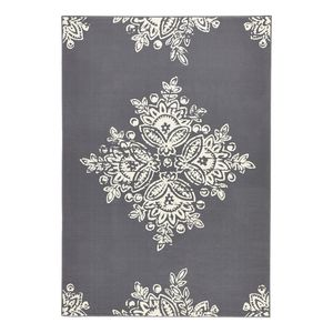 Teppich Blossom - Kunstfaser - Grau - 120 x 170 cm, Hanse Home Collection