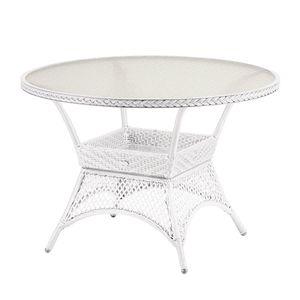 Gartentisch Madelene I - Polyrattan - Weiß, Best Freizeitmöbel