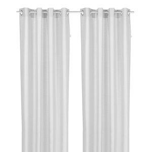 Ösenschal T-Handdrawn Stripes - Weiß, Tom Tailor