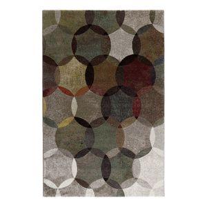 Teppich Modernina - Kunstfaser - Grau / Braun - 133 x 200 cm, Esprit Home