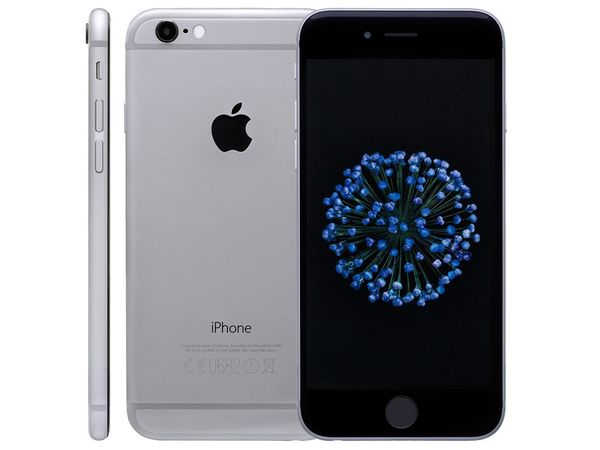 Apple iPhone 6, 32 GB, spacegrau + LIDL Connect SMART S
