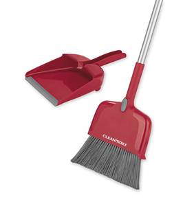 Multifunktionsbesen 4 in 1, rot Clean Maxx