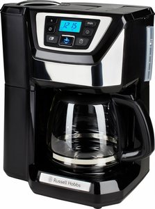RUSSELL HOBBS Kaffeemaschine mit Mahlwerk Chester 22000-56, 1,5l Kaffeekanne, Permanentfilter