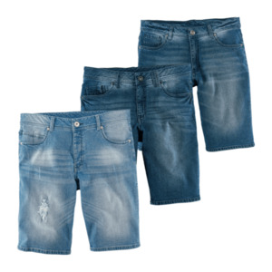 STRAIGHT UP  	   Jeansbermudas