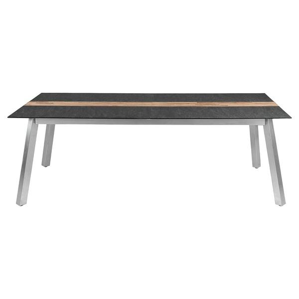 Zebra Ausziehbarer Tisch Gartentisch Ausziehtisch 220 280 X 100
