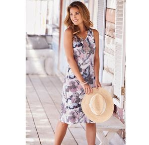 Damen-Kleid mit bezaubernden Schmetterlingen