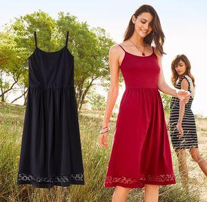 Damen-Kleid mit traumhaftem Schnitt und Spitze