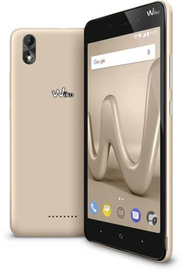 WIKO Lenny 4 Plus Dual-SIM Smartphone 14 cm (5.5 Zoll) 1.3 GHz Quad Core 16 GB 8 Mio. Pixel Android™ 7.0 Nougat Gold