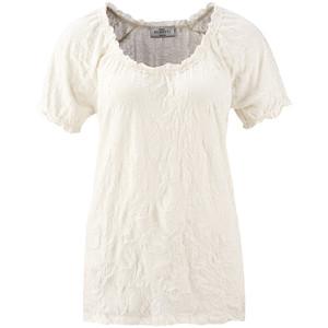 Damen T-Shirt im Crinkle-Look