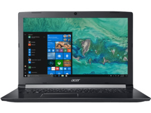 ACER Aspire 5 (A517-51-326G), Notebook mit 17.3 Zoll Display, Core™ i3 Prozessor, 8 null RAM, 1 null HDD, HD Graphics 620, Schwarz