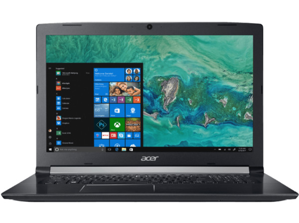 ACER Aspire 5 A517 51 326G Notebook Mit 173 Zoll Display CoreTM I3 Prozessor 8 Null RAM 1 HDD HD Graphics 620 Schwarz