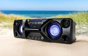 Dual BT-Party-Soundsystem DSBX90