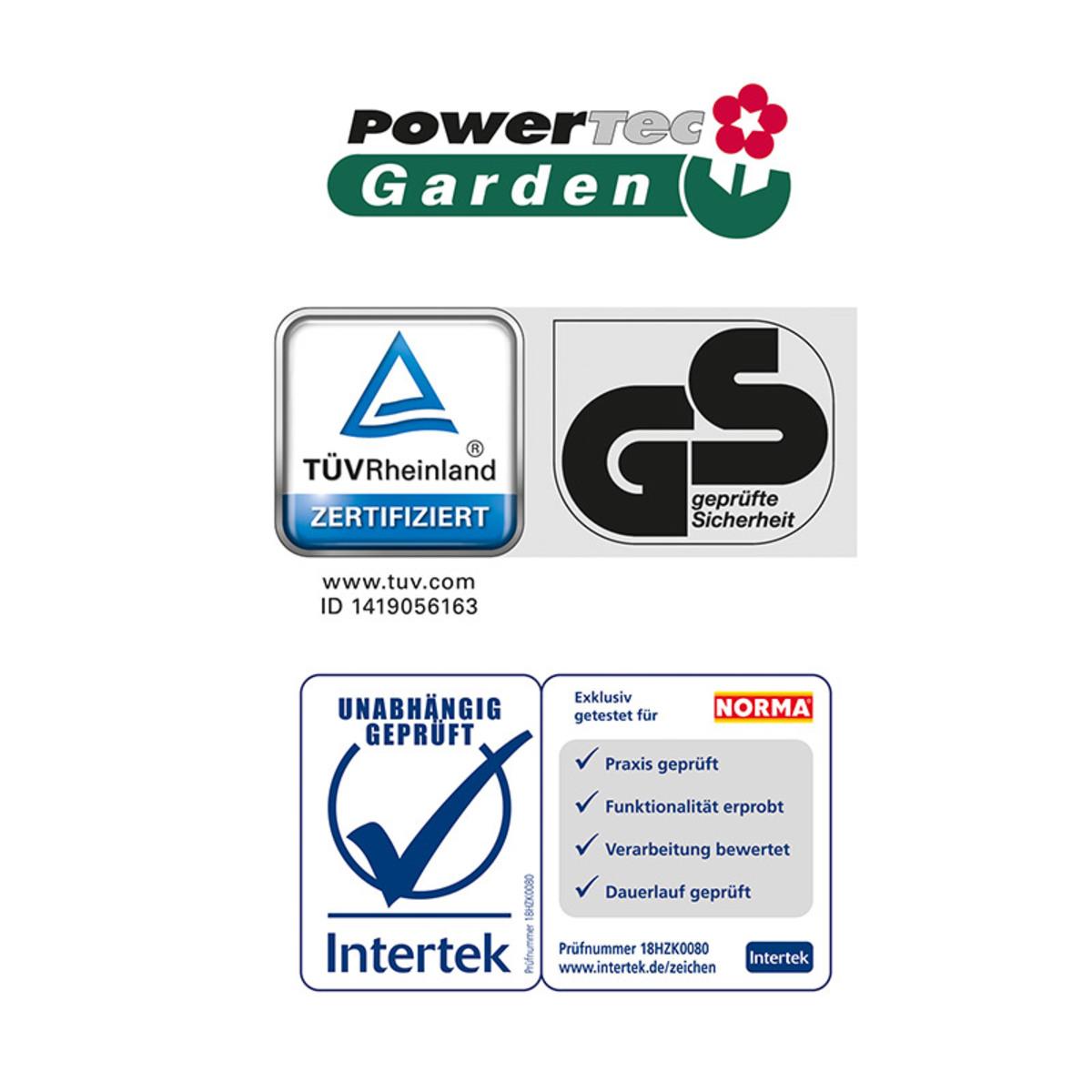Bild 4 von Powertec Garden Benzin-Rasenmäher Eco Wheeler 460/5in1 R