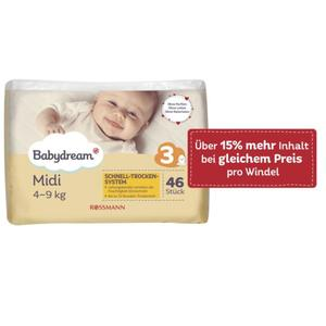 Babydream Windeln Midi