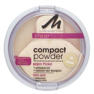 Manhattan Clear Face Compact Powder Sand 76 44.33 EUR/100 g