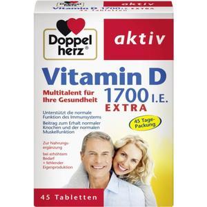 Doppelherz aktiv Vitamin D 1.700 I.E. extra 27.92 EUR/100 g