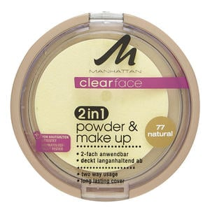 Manhattan Clear Face 2 in 1 Powder & Make up natural 7 36.27 EUR/100 g