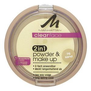 Manhattan Clear Face 2 in 1 Powder & Make up Sand 76 44.33 EUR/100 g