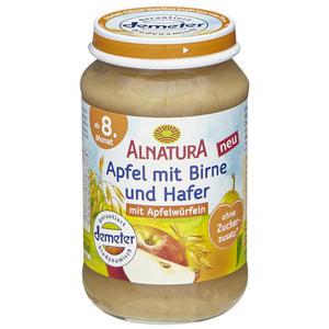 Alnatura Bio Apfel mit Birne und Hafer 0.52 EUR/100 g (6 x 190.00g)