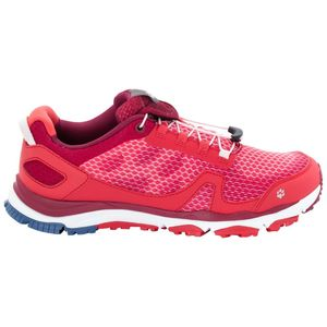 Jack Wolfskin Frauen Trail Running Schuhe Storm Breeze Low Women 37,5 rot