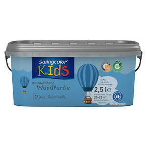 swingcolor KIDS Wand- & Deckenfarbe