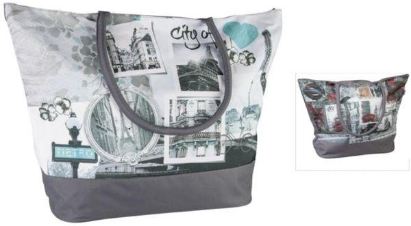 Strandtasche - aus Textil - 40 x 40 x 23 cm - verschiedene Designs