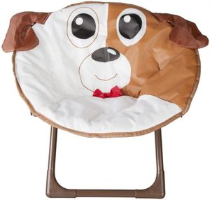 Kinderklappsessel - Hund - 48 x 24 x 47 cm