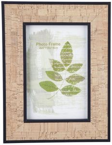 Bilderrahmen - aus Holz - 16,5 x 21,5 x 1,5 cm