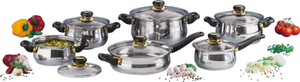 12 Stück: Kochtöpfe im Set GSW