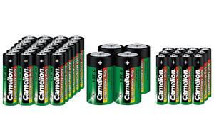Zink-Kohle Batterie Set - 40-teilig Camelion